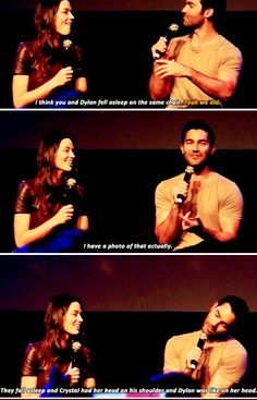 Teen Wolf - Best memory on set - WereWolf Con 2015 - #werewolfcon in Brussels Sept. 26-27th 2015