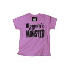 Kid's Mommy's Little Monster T-Shirt