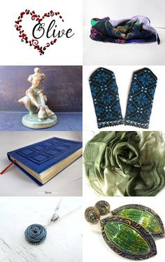 Spring gifts by Nathalie on Etsy--Pinned with TreasuryPin.com