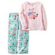 Girls 4-14 Carter's Owl Top & Tribal Print Bottoms Pajama Set