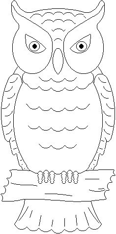 free coloring sheets animal owl for kids Coloring pages