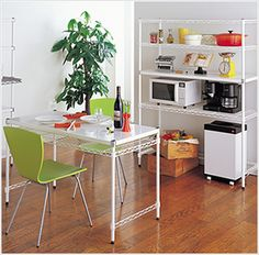KITCHEN.[キッチン] | シーンから選ぶ | 製品情報 | ホームエレクター(Home ERECTA)