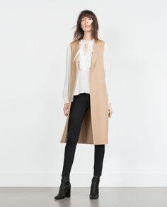 Image 1 of HAND MADE WAISTCOAT from Zara