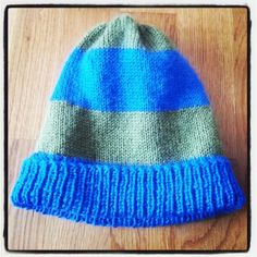 Knitted hat Knitted Hats, Beanie, Knitting, Fashion, Moda, Tricot, Fashion Styles, Breien, Stricken