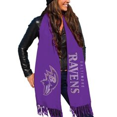 Baltimore Ravens NFL Womens Purple Nike Team Dedication Tri-Blend ...