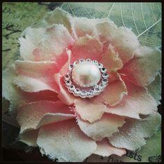 Muslin Flower created by Bona Rivera-Tran.