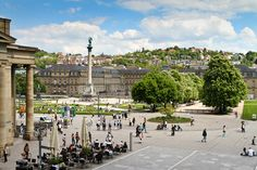 Hochschulen in Stuttgart (Baden-Württemberg) - pointer. Europe Travel Guide, Travel Guides, Cities In Germany, European Tour, The Locals, Dolores Park, Street View, Tours, World