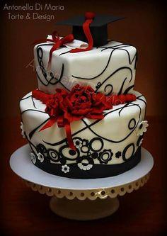 Elegant Graduation Cake Cake Pops And Cookies Cakes