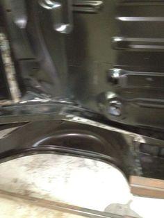 Camaro floor pan D