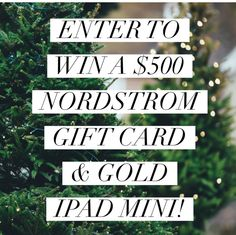 $500 Nordstrom Gift Card + Gold Mini iPad Giveaway | Jenns Blah Blah Blog | New Mexico Mom Travel, Foodie, & Lifestyle Blogger