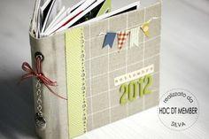 """Hobby di Carta - Il blog: Mini Album: """"Settembre 2012"""" by Silva"""