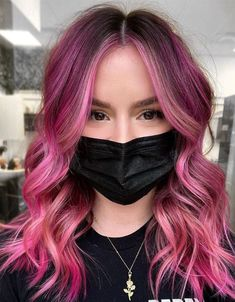 Just explore here and see the Most Unique and Perfect Hair Color ideas of Pink Hair Color for those girls who are going to ready the Fresh look in these days. Because that is the Fresh and Modern style we receive from our stylist. So all the young age girls and ladies who want to get the professional look in the public place they need to must try it and go rock in the year of 2021. #fallhaircolor,#2021haircolor,#balayagehaircolor, #hairsalon, #haircolorideas, #blondehaircolor #redhaircolor