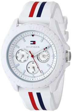 White women watches :white watches for women Tommy Hilfiger