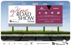 Para nós é uma honra apoiar o evento. Criação, impressão de lona e exibição em painél iluminado em Avaré para Adega Armazém de Baco | Rua Sérgio Bernardino, 1285 | Centro – Avaré – SP – Brasil | Tel (14) 3731.1003 / 9774.2091 | armazemdebaco@uol.com.br #armazemdebaco #wineroad #painel #outdoor #comluz #valim #avare #armazemdebaco @wagnertrindade