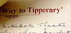 """""""It's a Long Way to Tipperary"""" Lots of our letters were written on paper with interesting and iconic letterheads. Come and take a look for yourself when we reopen! Letterhead, Libraries, Encouragement, Collections, Letters, War, Explore, Writing, Library Room"""