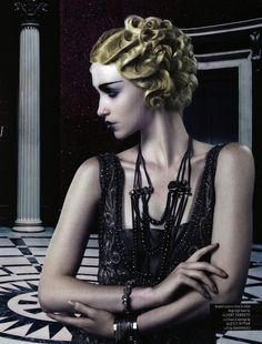 """The New Gatsby"" by Roberto Ligresti for Ouch! Summer 2012"