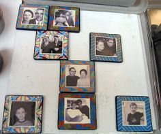 Lisa Clark Family magnets.jpg | Flickr - Photo Sharing! PAPCG Philadelphia Area Polymer Clay Guild