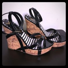 Kardashian Kollection Fabulous Wedge Size 7 Everyday wedge great for spring and summer. Easy to dress up or down Kardashian Kollection Shoes Wedges