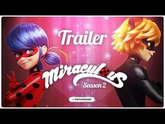 Miraculous Ladybug - SEASON 2 | PROMO TRAILER (unofficial) - YouTube