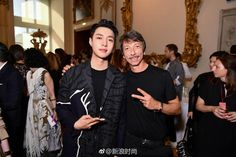 180621 Sina Fashion Weibo Update : Yixing at Valentino Men's SS 2019 collection fashion show in Paris Changsha, Valentino Men, Paris Shows, Exo Members, Yixing, Record Producer, Luhan, Super Powers, Fashion Show