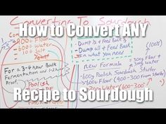 Converting Any Bread Recipe to Sourdough - YouTube