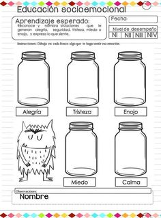Spanish Teaching Resources, English Activities, Social Emotional Activities, Preschool Activities, Preschool Friendship, Emotions Preschool, Mindfulness For Kids, Spanish Classroom, Feelings And Emotions