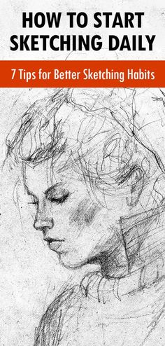Want To Start A Sketching Habit Here Are Easy Tips - By Carrie Lewis In Art Business Advice General Art Advice In A Previous Article I Shared A Few Ways Artists Can Stay Creative During The Holidays My Tips Included Activities Both In And Outside Doodle Drawing, Painting & Drawing, Dot Painting, Drawing Skills, Drawing Lessons, Daily Drawing, Pencil Art Drawings, Drawing Sketches, Pencil Sketch Art