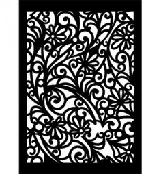 Mask A4 Flower curls 470.803.009 € 5,50 Cool Stuff, Stencil Patterns, Cool Patterns, Moroccan Table Lamp, Cnc Cutting Design, Laser Cut Panels, Craft Shop, Paint Cans, Diy Projects To Try