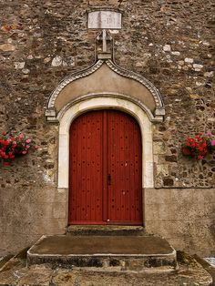 Church portal, Loire valley, France ~ by theaspiringphotographer, via Flickr