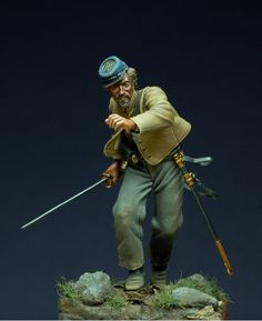 confederate officer  by Horan