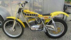 Vintage Motorcycles, Cars And Motorcycles, Trial Bike, Street Bikes, Dirt Bikes, Bike Trails, Trials, Motorbikes, Yamaha