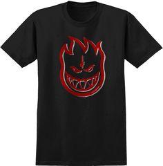 Spitfire x Deathwish Tee Shirt Black