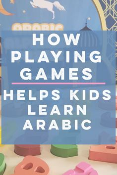 How playing games helps kids learn the Arabic Language. Fun and frustration free. Preschool Games, Preschool Kindergarten, Toddler Learning, Kids Learning, Learning Piano, Learn Arabic Alphabet, Learn Arabic Online, Ramadan Activities, Arabic Phrases