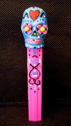 Cool looking custom PEZ Skull