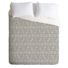 Gneural Shifting Pyramids Duvet Cover | DENY Designs Home Accessories