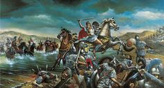 Alexander the Great at the Battle of Granicus River