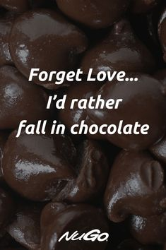 Falling in love with chocolate is the best way to boost your mood! Chocolate Lovers Quotes, Chocolate Humor, Chocolate Sayings, Baking Quotes, Food Quotes, Chocolate Dreams, I Love Chocolate, Crazy Girl Quotes, Sassy Quotes