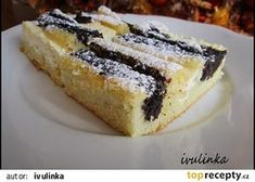 Frgálová buchta recept - TopRecepty.cz Desert Recipes, Strudel, Sweet Recipes, Sweet Tooth, French Toast, Bakery, Cheesecake, Deserts, Cooking Recipes