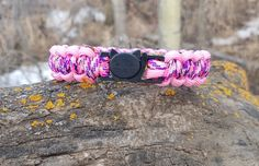 Break Away Cat Collars with Kitty Clasp 550 Paracord by BrodsParacord on Etsy