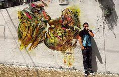Lisbon by Hopare - Street Art by Hopare  <3 <3
