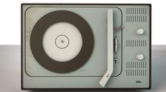 Vintage Braun Record Player
