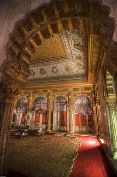 Inside Mehrangarh, Jodhpur, India  by abmiller99, via Flickr