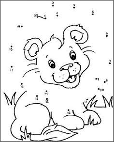 Actividades para Educación Infantil: Dibujos escondidos dot to dot