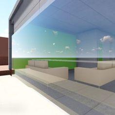 Interior Design And Graphic Design, 3d Rendering