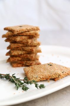 Parsnip and Thyme Grain Free Crackers--omit nuts/seeds for tigernut