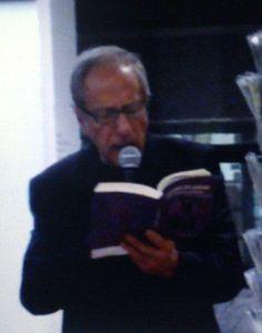 Renato Liprandi, noto per il ruolo di Augusto De Marinis in Camera Café, legge alcuni brani dell'Incubo del Babau