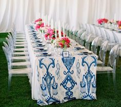 Calling it Home: Blue and White Wedding