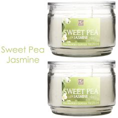 Hosley Set of 2 Sweet Pea Jasmine Highly Scented, 2 Wick, 10 Oz wax, Jar Candle. We Hand Pour Our Candles Using a High Quality Wax Blends with Essential Oil Infused Fragrance Ingredients to Create a Highly Fragranced Aroma. BULK BUY. Ideal GIFT for party favor, weddings, spa, Reiki, Meditation, Bathroom settings ** Learn more by visiting the image link.