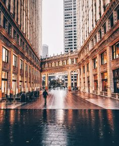 Chicago alleyways by NealKumar. Chicago Things To Do, Places In Chicago, Visit Chicago, Chicago Photos, Chicago Travel, Chicago Buildings, City Buildings, Chicago Apartment, Chicago Photography