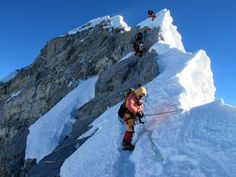 Summiting Everest is about determination and enduring risk and fatigue